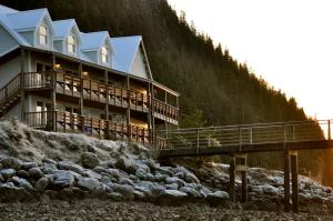 Orca Adventure Lodge in Cordova, Alaska.