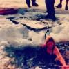 Greta plunge